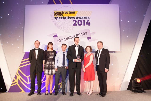 Group CN specialist awards 2014